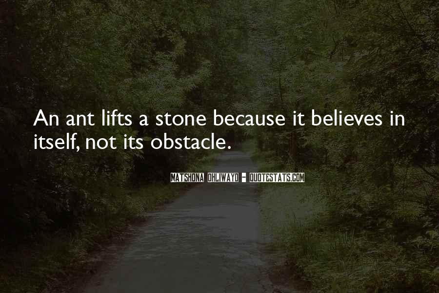 Best Obstacle Quotes #160728
