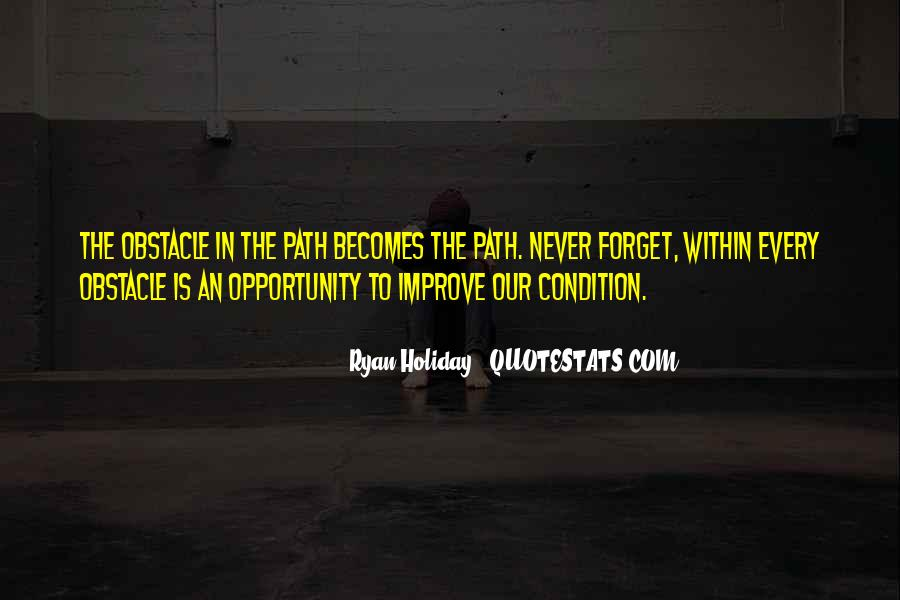 Best Obstacle Quotes #162507