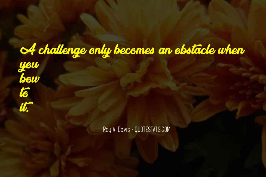 Best Obstacle Quotes #65265