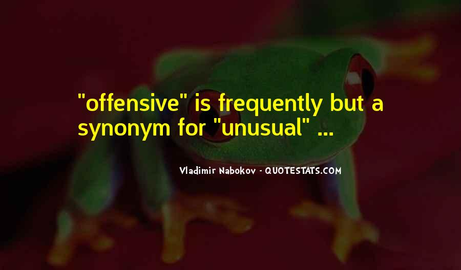 Best Offensive Quotes #74860
