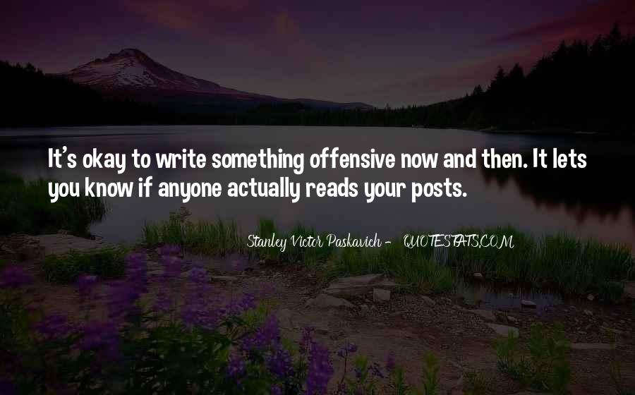 Best Offensive Quotes #81273