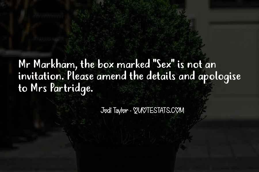 Best Partridge Quotes #148950