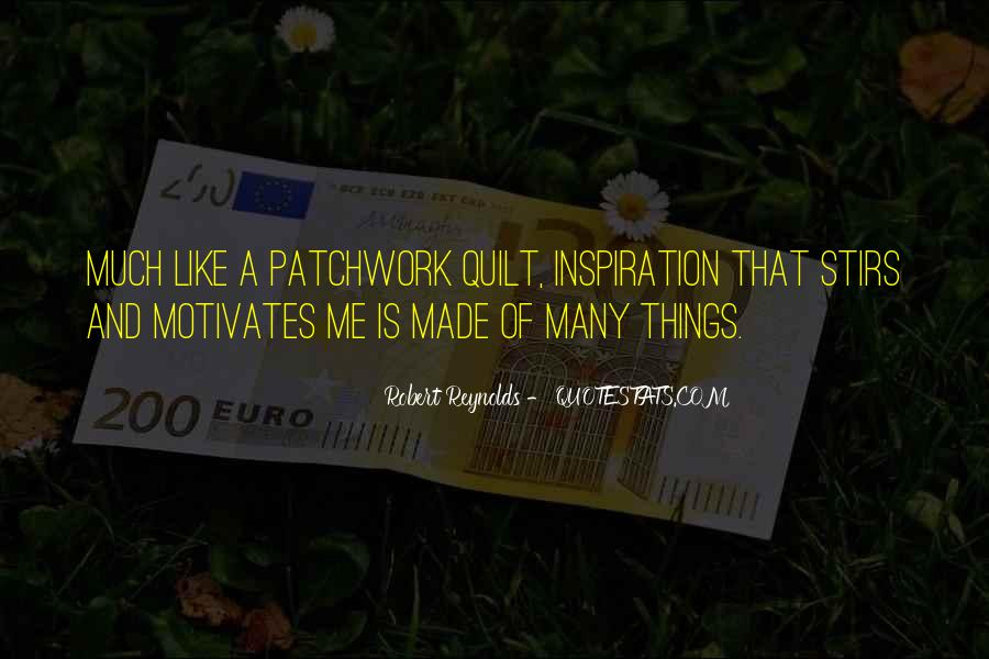 Best Patchwork Quotes #196790