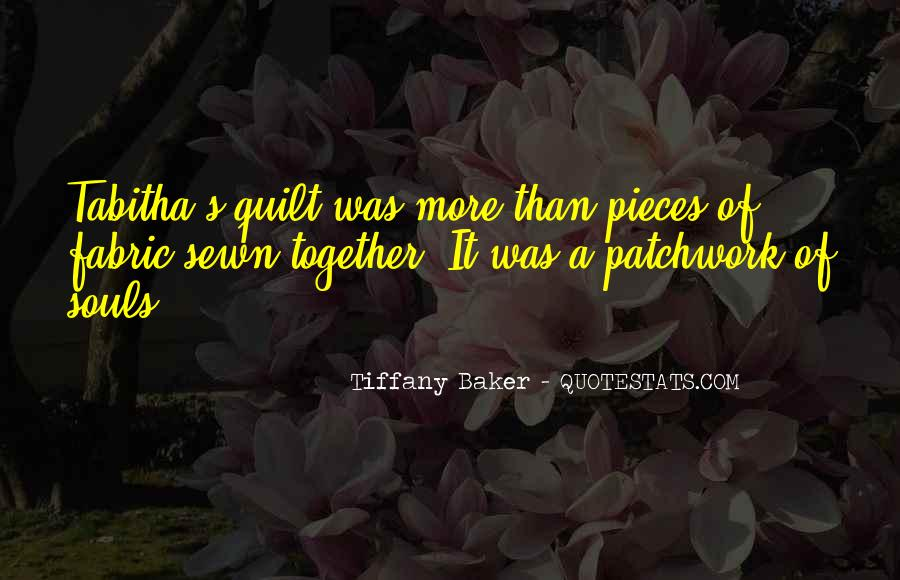 Best Patchwork Quotes #587694