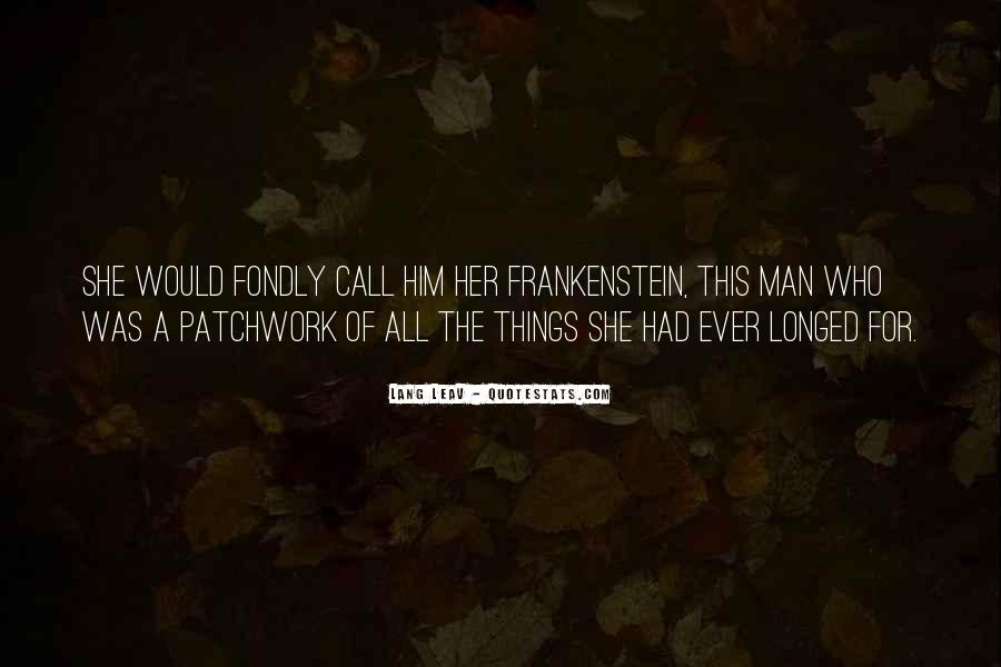 Best Patchwork Quotes #918981