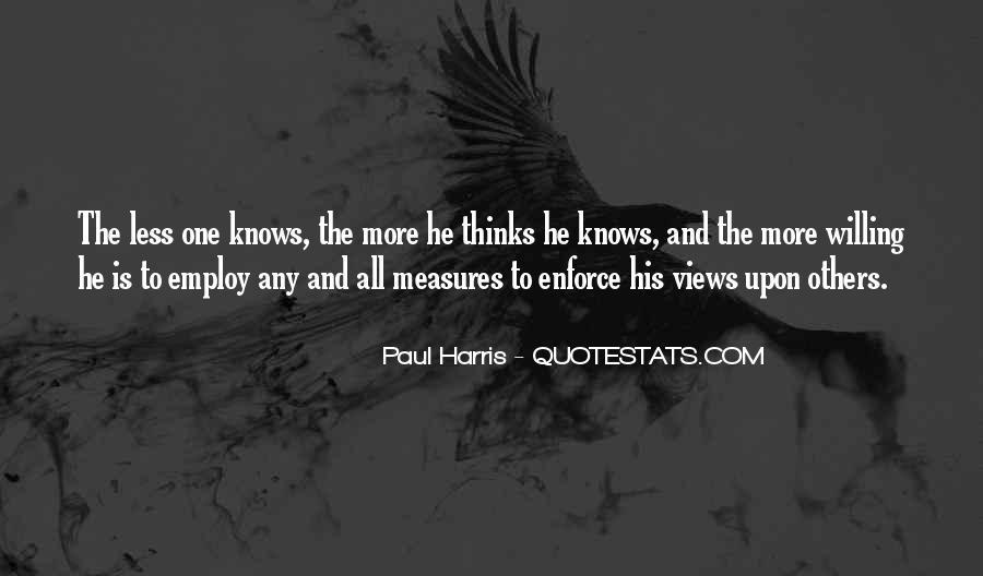 Best Paul Harris Quotes #1030692