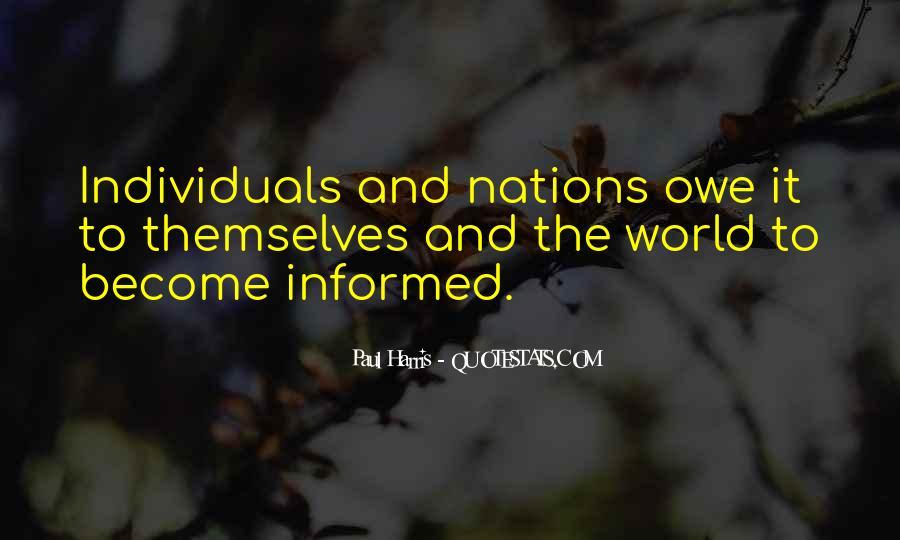 Best Paul Harris Quotes #1376293