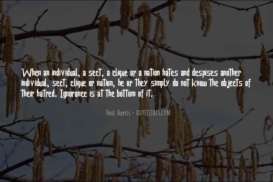 Best Paul Harris Quotes #1413932