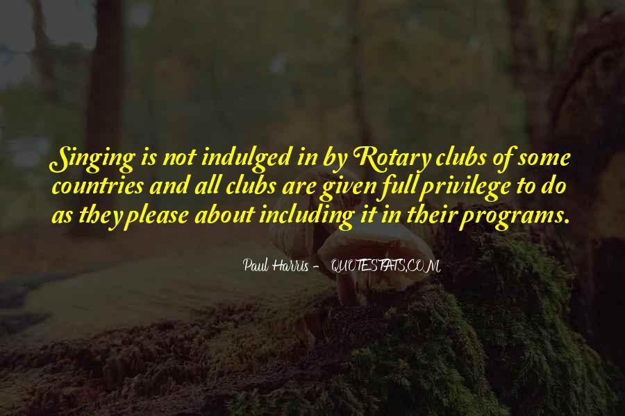 Best Paul Harris Quotes #1593947