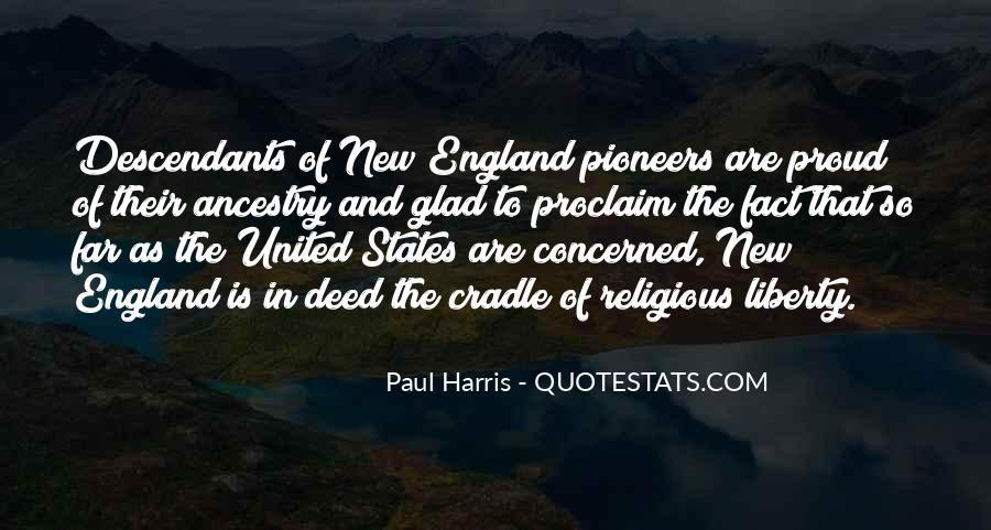 Best Paul Harris Quotes #291882