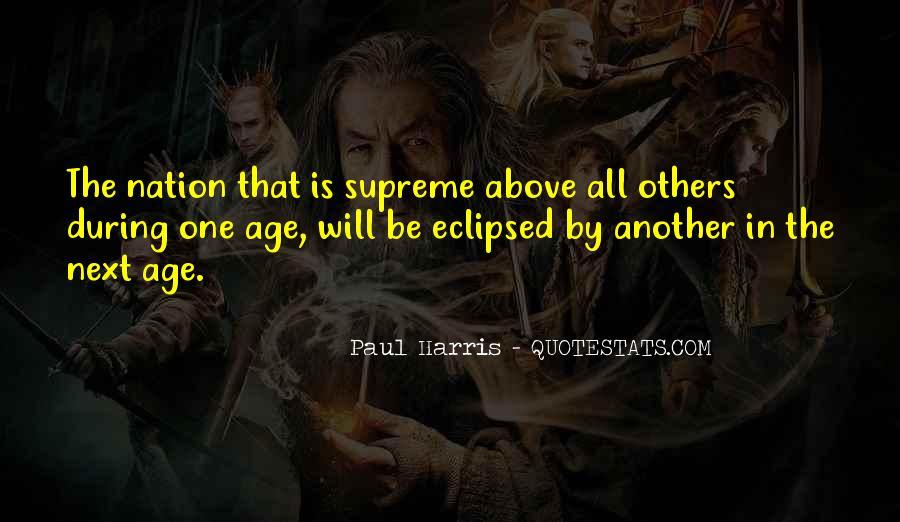 Best Paul Harris Quotes #437793