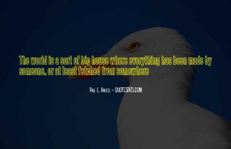 Best Paul Harris Quotes #663543