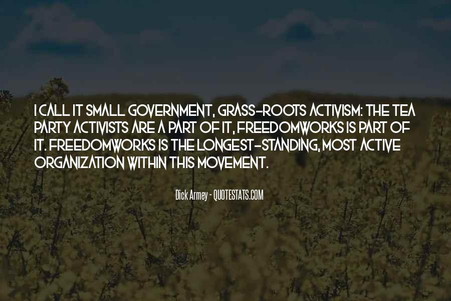 Quotes About The Tea Party Movement #1507013