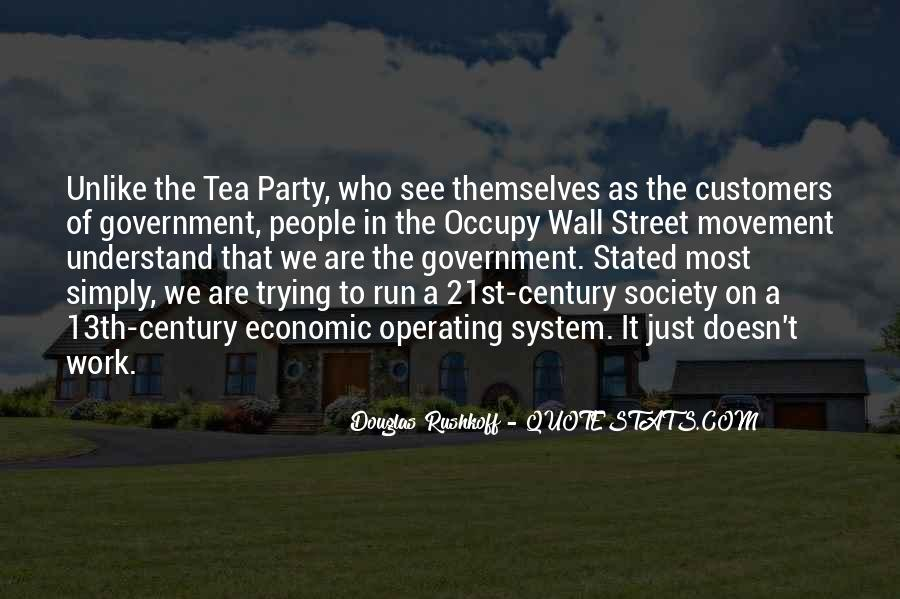 Quotes About The Tea Party Movement #573087