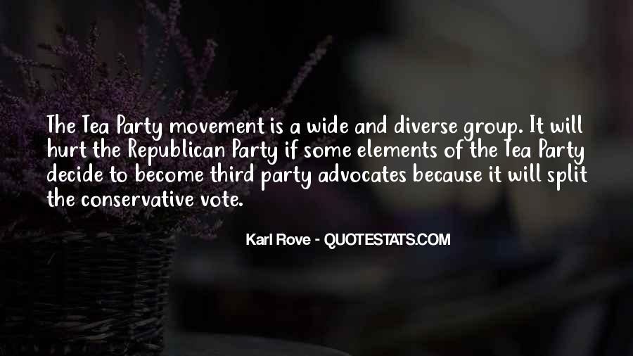 Quotes About The Tea Party Movement #79117