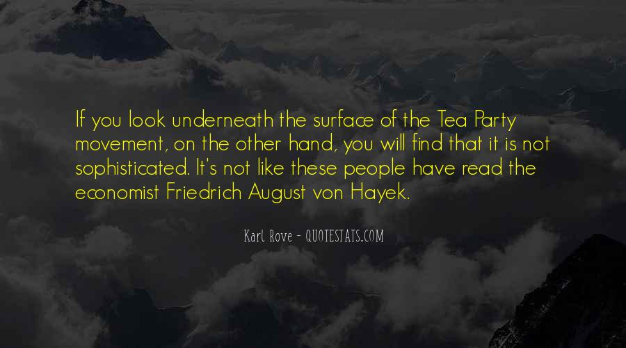 Quotes About The Tea Party Movement #917696