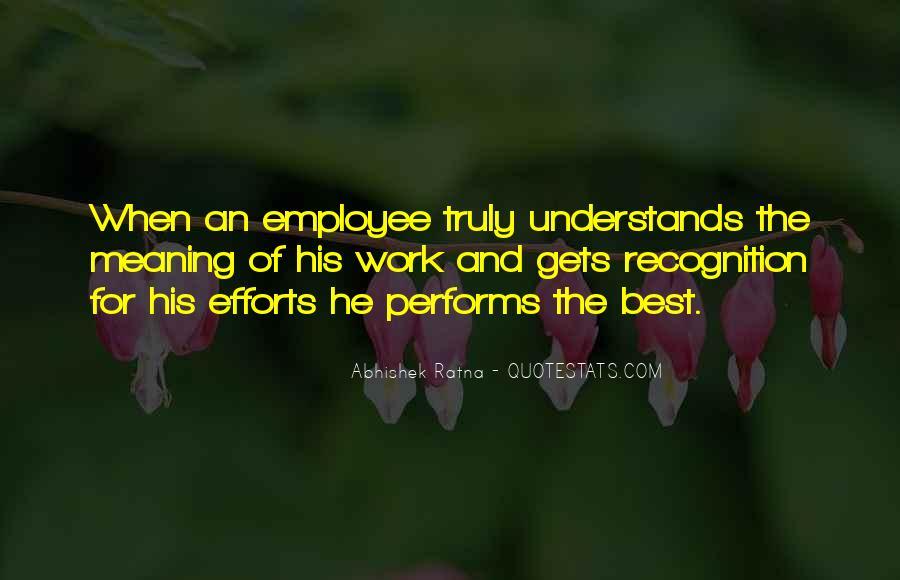 Best Performance Management Quotes #1699650