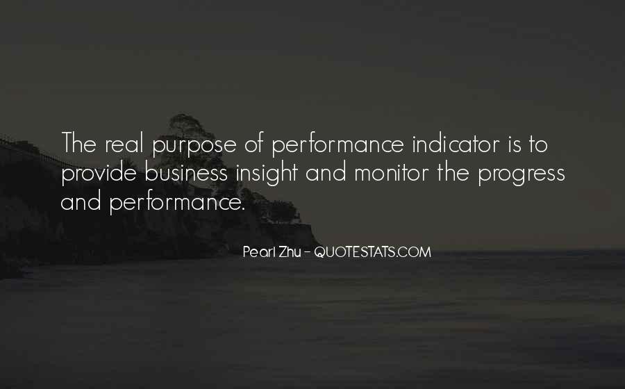 Best Performance Management Quotes #321617