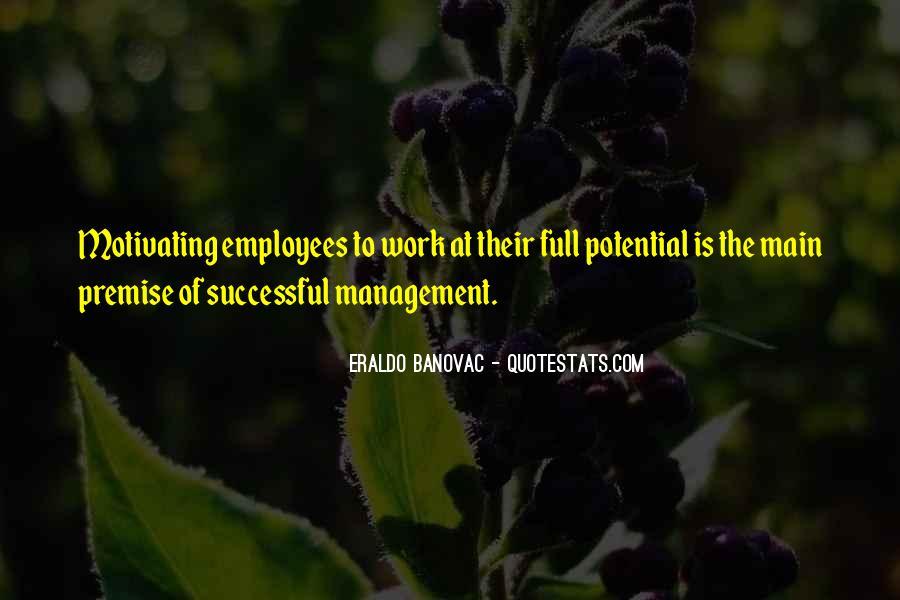 Best Performance Management Quotes #338294