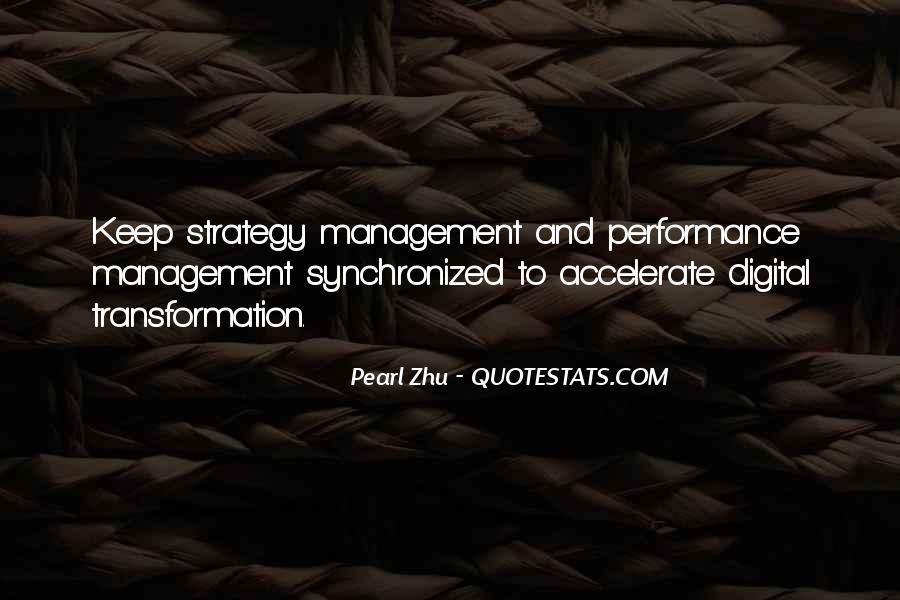 Best Performance Management Quotes #395617