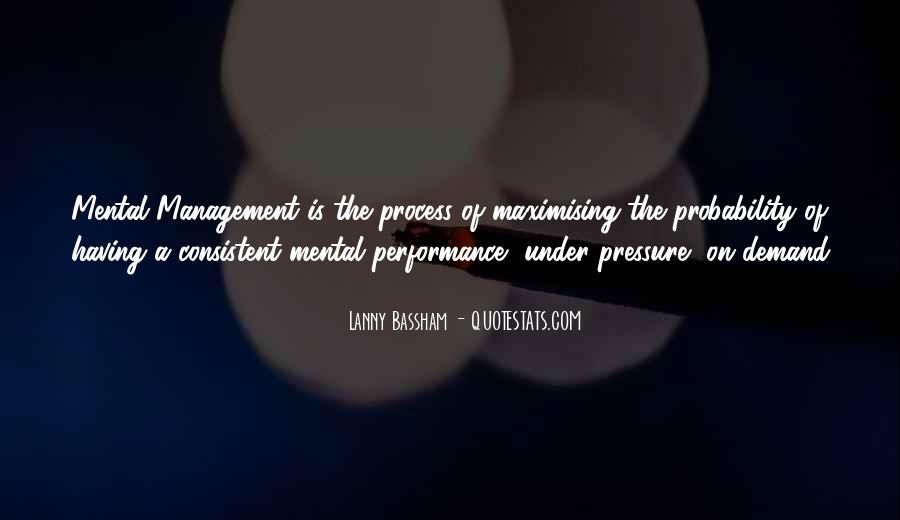 Best Performance Management Quotes #480203