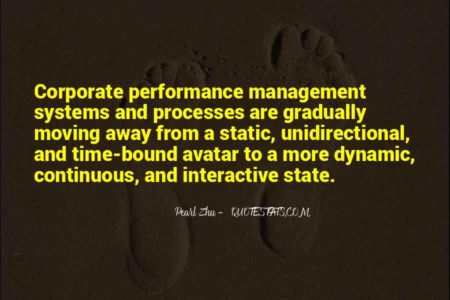 Best Performance Management Quotes #50020