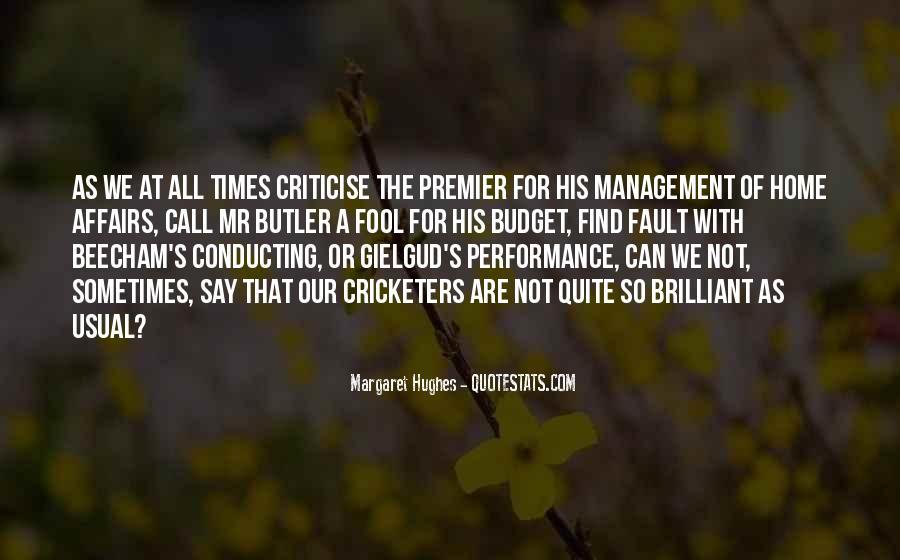 Best Performance Management Quotes #518443