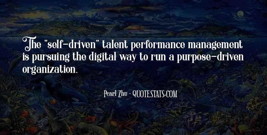 Best Performance Management Quotes #620691