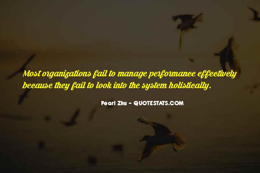 Best Performance Management Quotes #851362