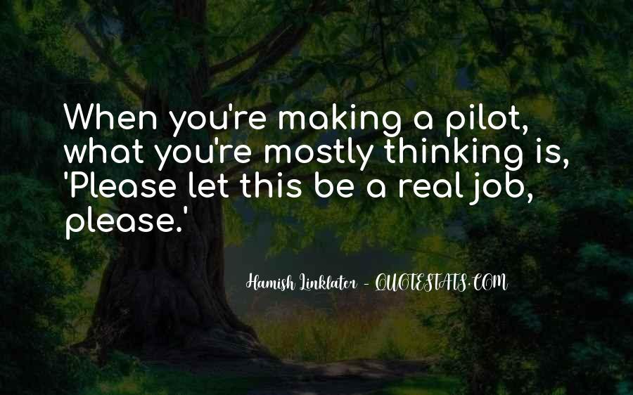 Best Pilot Quotes #119577