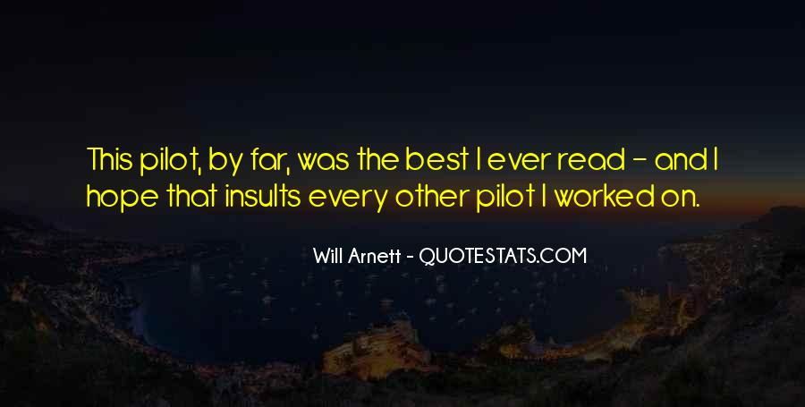 Best Pilot Quotes #1300604