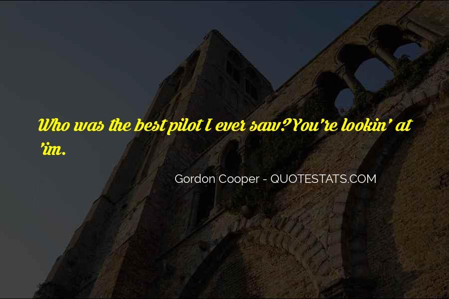Best Pilot Quotes #56446
