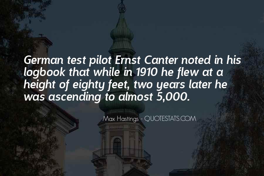 Best Pilot Quotes #88487