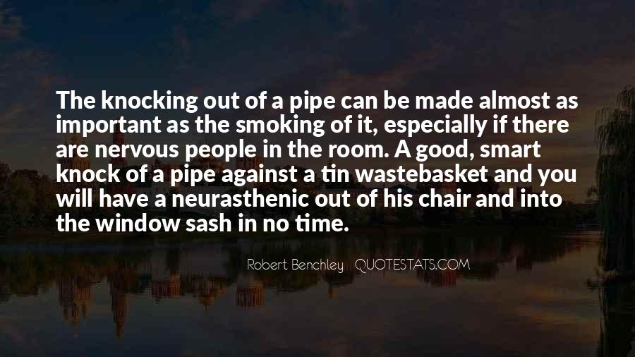 Best Pipe Smoking Quotes #1058453