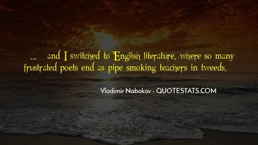 Best Pipe Smoking Quotes #1615738