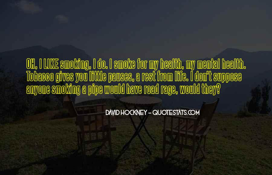 Best Pipe Smoking Quotes #1858368