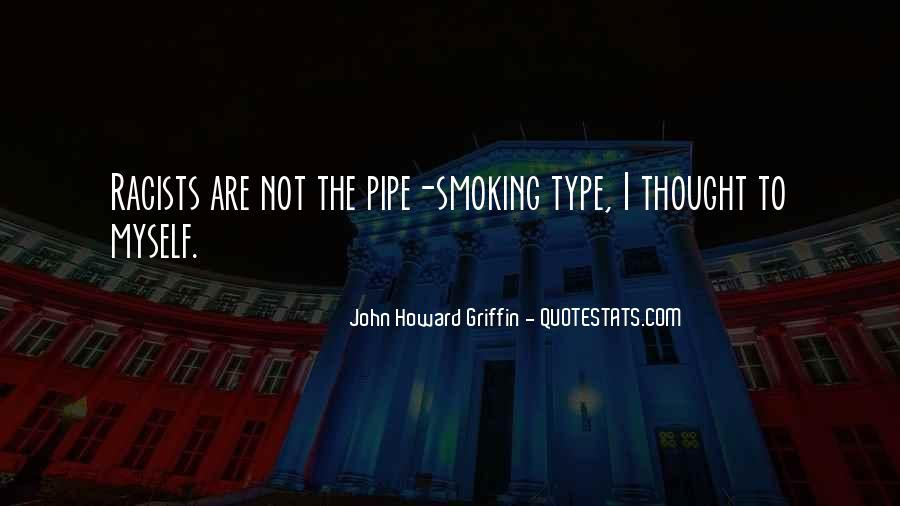 Best Pipe Smoking Quotes #264155