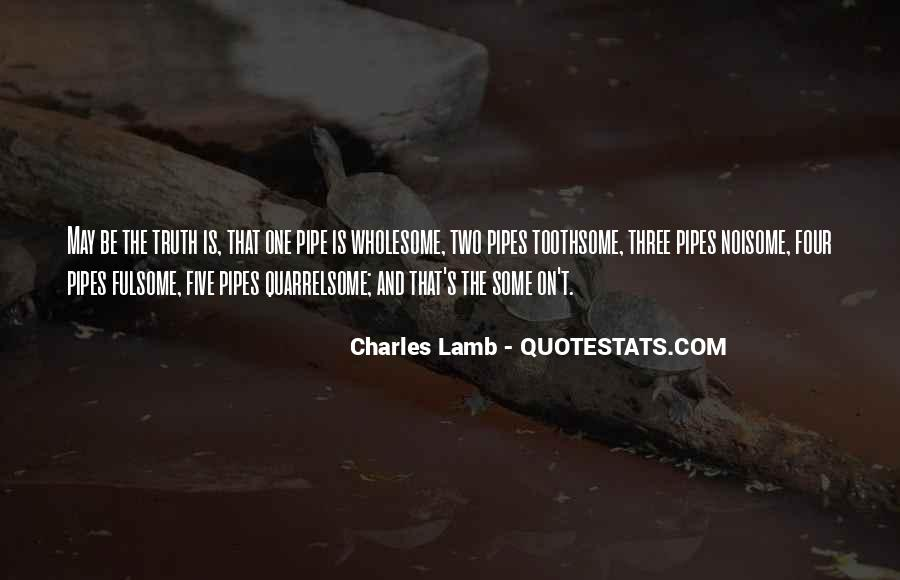 Best Pipe Smoking Quotes #575629