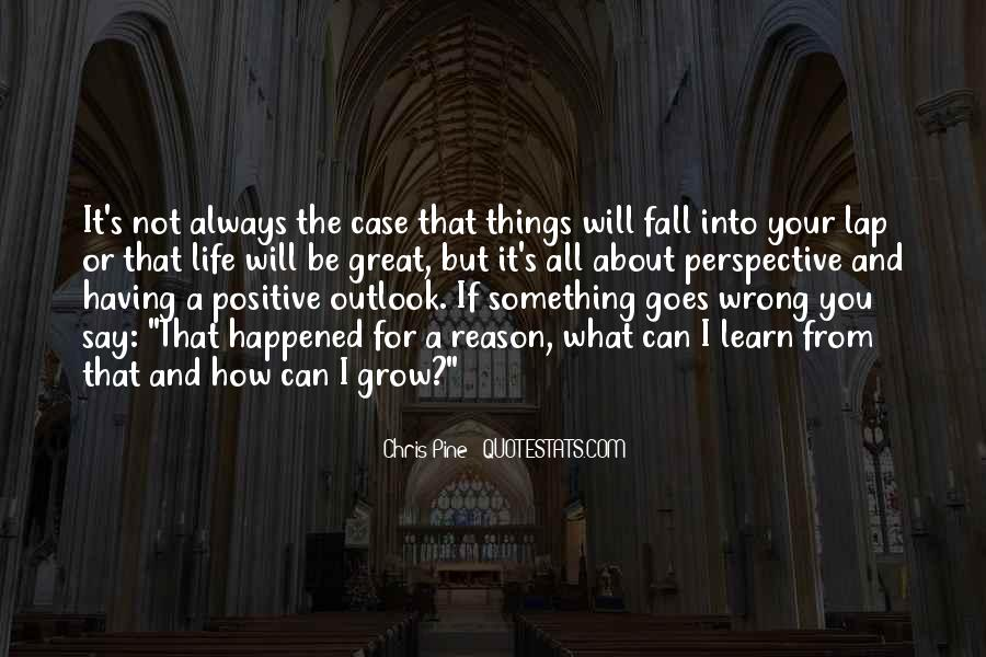Best Positive Outlook Quotes #168219