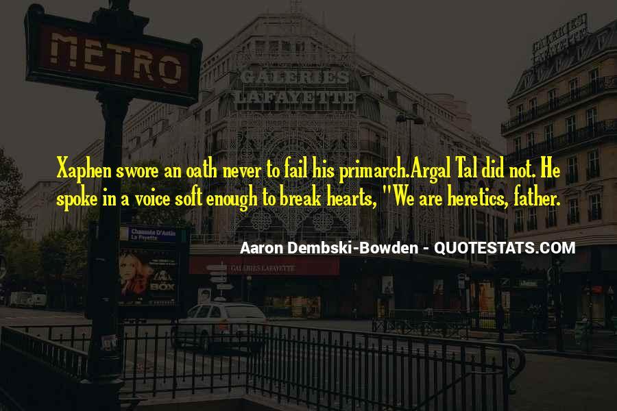 Best Primarch Quotes #1575703