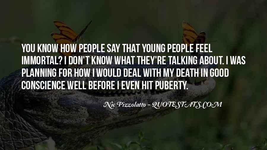 Best Puberty Quotes #129726
