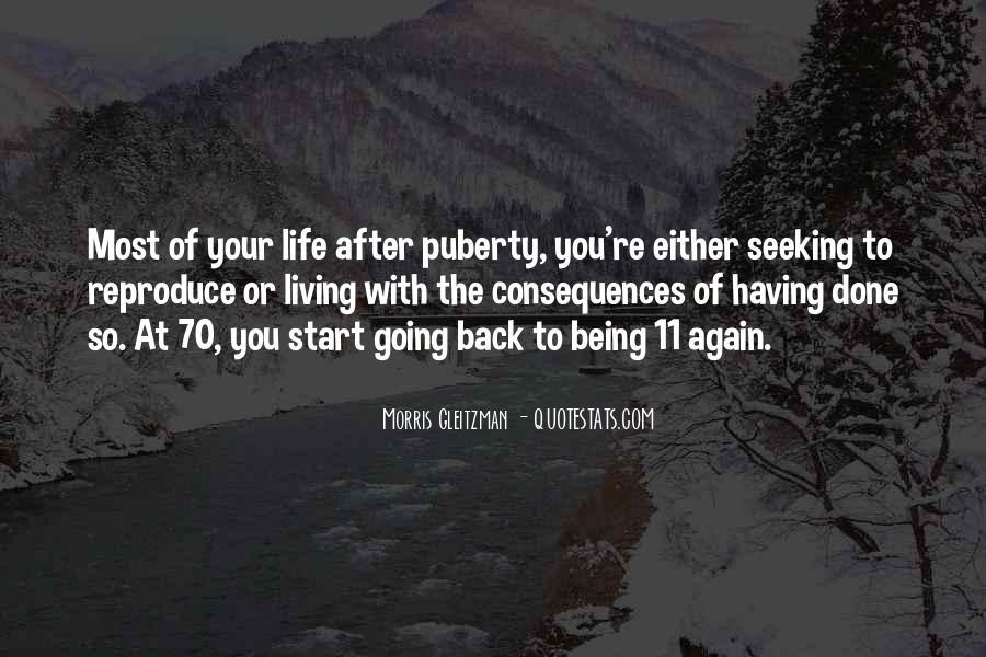 Best Puberty Quotes #178380