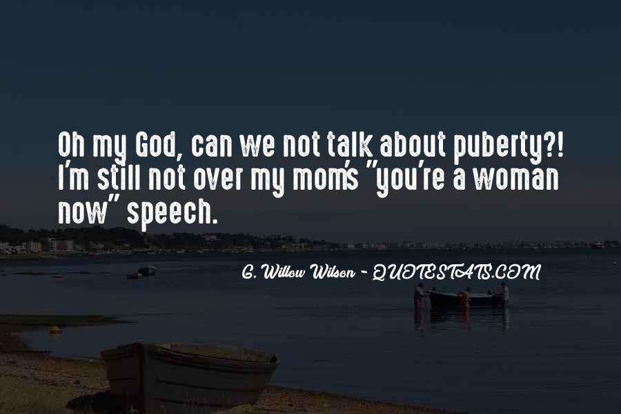 Best Puberty Quotes #241992