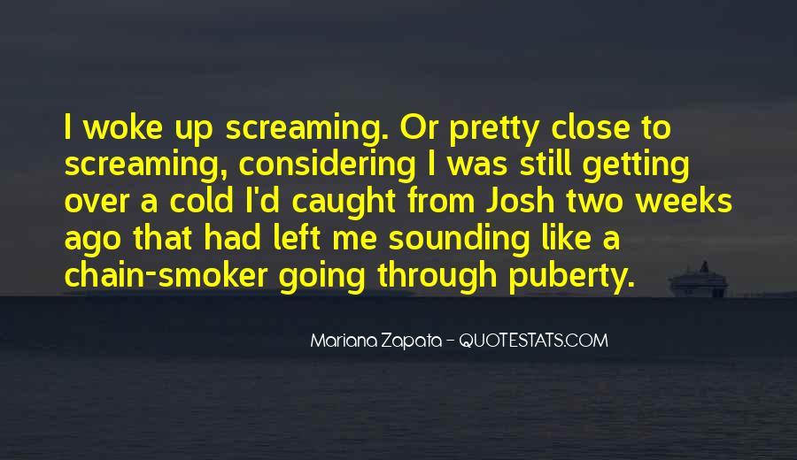 Best Puberty Quotes #373397