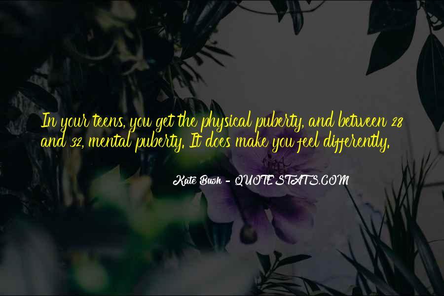 Best Puberty Quotes #381799