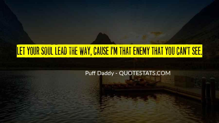 Best Puff Daddy Quotes #1063230