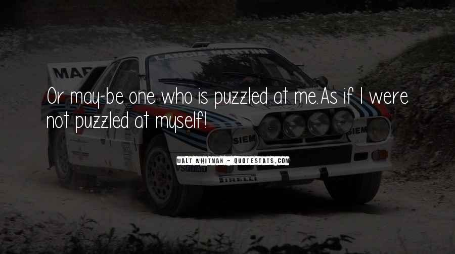 Best Puzzled Quotes #77707