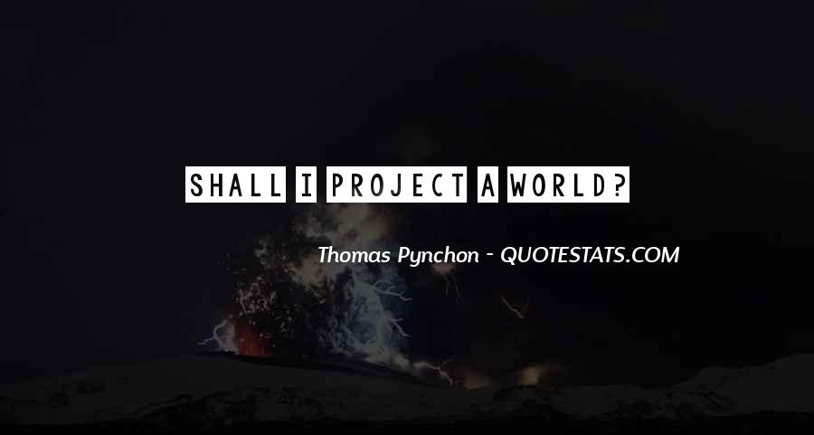 Best Pynchon Quotes #119932