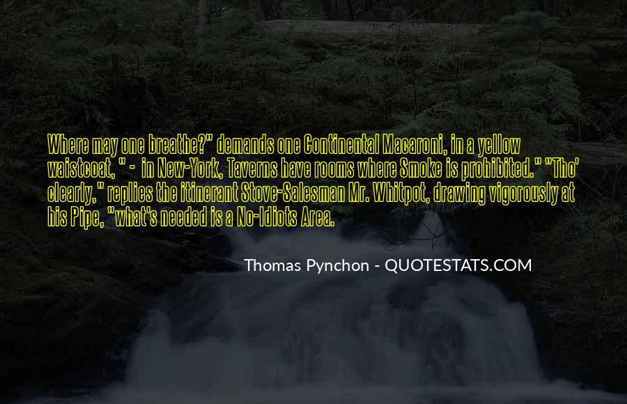 Best Pynchon Quotes #122343