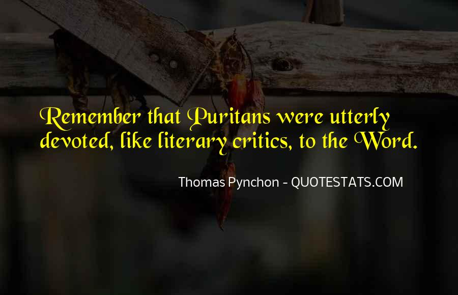 Best Pynchon Quotes #129047